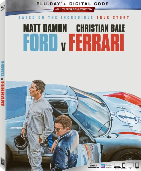 Ford v Ferrari; Arrives On Digital January 28 & On 4K Ultra HD, Blu-ray & DVD February 11, 2020 From Fox 2