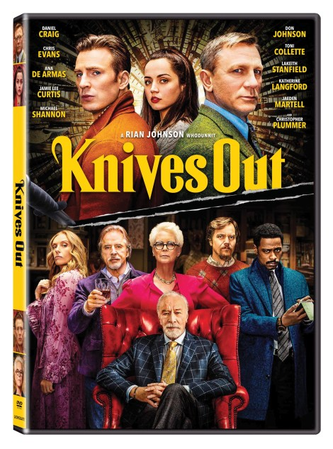 Knives Out; The New Film From Rian Johnson Arrives On Digital February 7 & On 4K Ultra HD, Blu-ray & DVD February 25, 2020 From Lionsgate 12