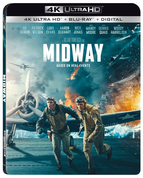 Midway; Arrives On Digital February 4 & On 4K Ultra HD, Blu-ray & DVD February 18, 2020 From Lionsgate 4