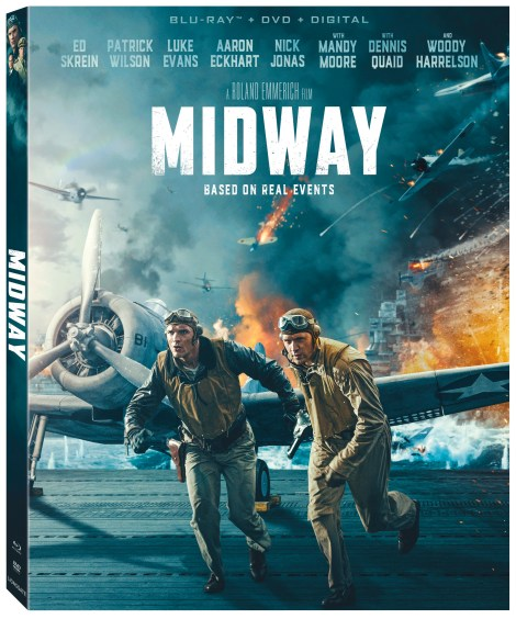 Midway; Arrives On Digital February 4 & On 4K Ultra HD, Blu-ray & DVD February 18, 2020 From Lionsgate 5