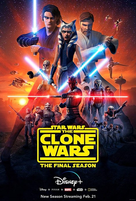 Check Out An Action-Packed New Trailer & Key Art For The Upcoming Final Season Of 'Star Wars: The Clone Wars' On Disney Plus 2