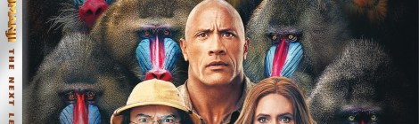 Jumanji The Next Level 4K UHD Artwork