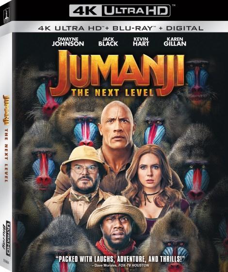 Jumanji The Next Level 4K UHD Artwork