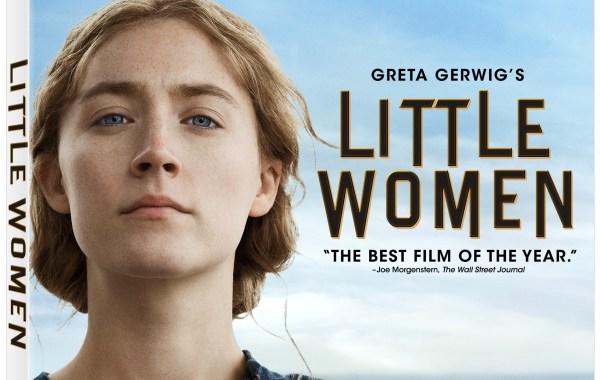 Little Women 2019 Blu ray artwork