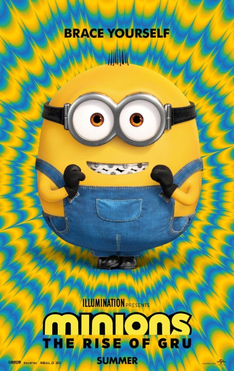 The Official 'Minions: The Rise Of Gru' Trailer & Poster Have Arrived! 1