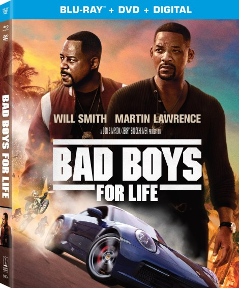 Bad Boys For Life; Arrives On Digital March 31 & On 4K Ultra HD, Blu-ray & DVD April 21, 2020 From Sony 3