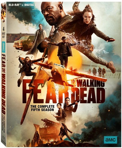 Fear The Walking Dead Season 5 Blu ray Featured image