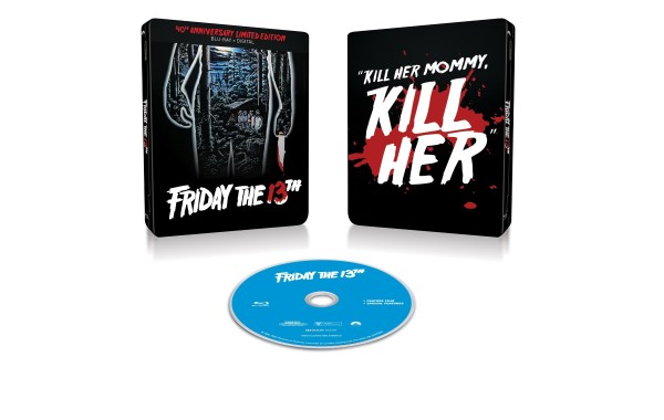 Friday the 13th 40th Anniversary Limited Edition Steelbook artwork