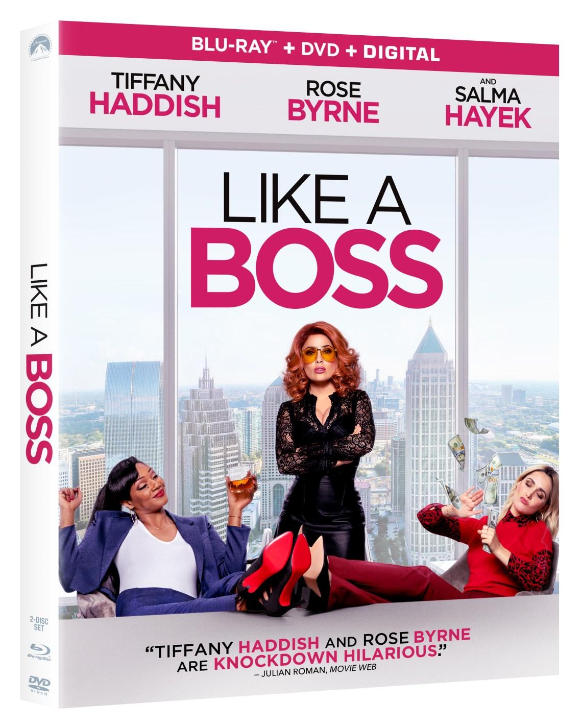 Like A Boss Blu ray Artwork