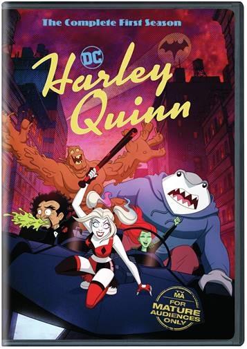 Harley Quinn Season 1 DVD image
