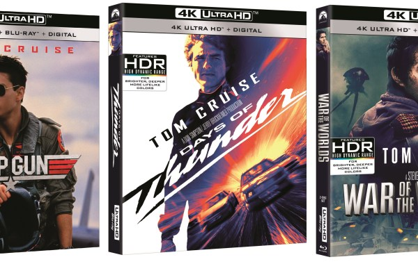 'Top Gun', 'Days Of Thunder' & 'War Of The Worlds'; All 3 Tom Cruise Films Debut On 4K Ultra HD May 19, 2020 From Paramount 1
