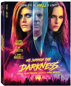 We Summon The Darkness Blu ray artwork