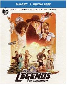 [Blu-Ray Review] 'DC's Legends Of Tomorrow: The Complete Fifth Season'; Now Available On Blu-ray & DVD From DC - Warner Bros 1