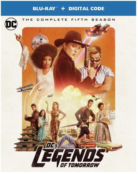 DC's Legends Of Tomorrow: The Complete Fifth Season; Arrives On Blu-ray & DVD September 22, 2020 From DC & Warner Bros 4