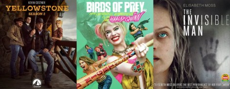 DEG Watched At Home Top 20 List 05/21/20 Birds of Prey, The Invisible Man