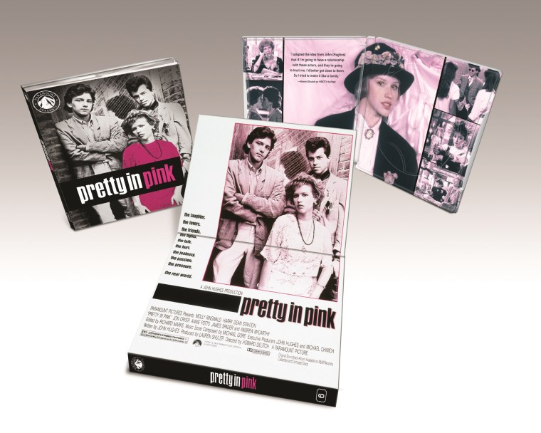 Paramount Presents: Pretty In Pink Blu ray Details, Release Date and Artwork