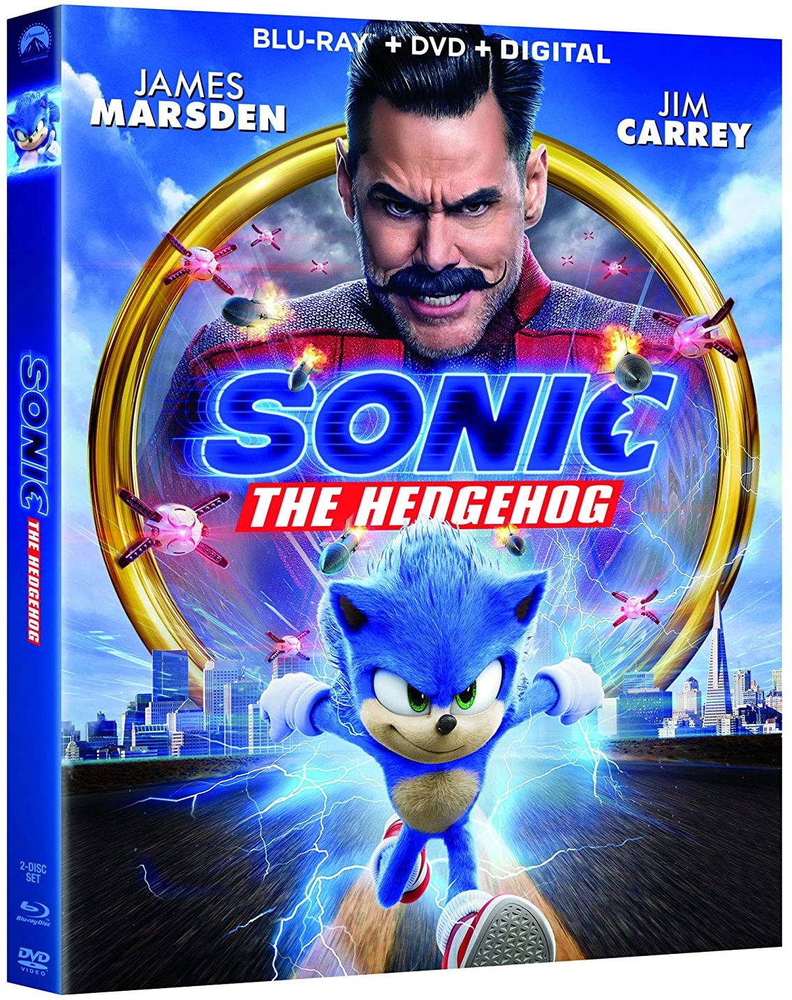 Blu Ray Review Sonic The Hedgehog Available On 4k Ultra Hd Blu Ray Dvd May 19 2020 From Paramount Screen Connections