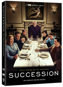 Succession Season 2 DVD Release Date, Details and Artwork