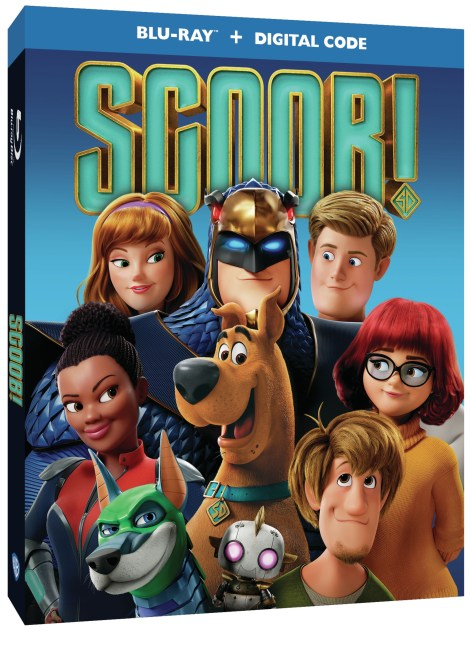 Scoob!; The New Animated Scooby-Doo Movie Arrives On 4K Ultra HD, Blu-ray & DVD July 21, 2020 From Warner Bros 9