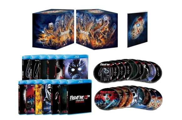 Friday The 13th (Deluxe Edition); The Jam-Packed 16-Disc Box Set Arrives On Blu-ray October 13, 2020 From Scream Factory 3