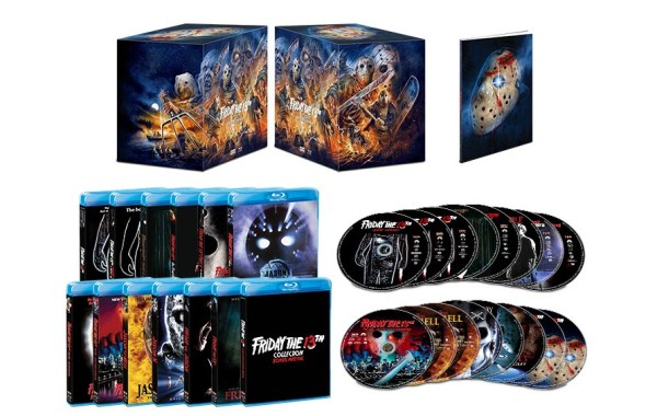 Friday The 13th (Deluxe Edition); The Jam-Packed 16-Disc Box Set Arrives On Blu-ray October 13, 2020 From Scream Factory 4