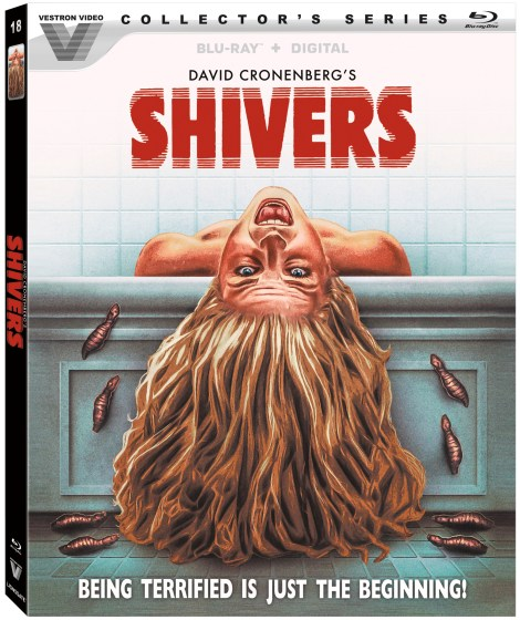 Shivers; David Cronenberg's Horror Classic Arrives On Blu-ray As Part Of The Vestron Video Collector's Series September 15, 2020 From Lionsgate 5