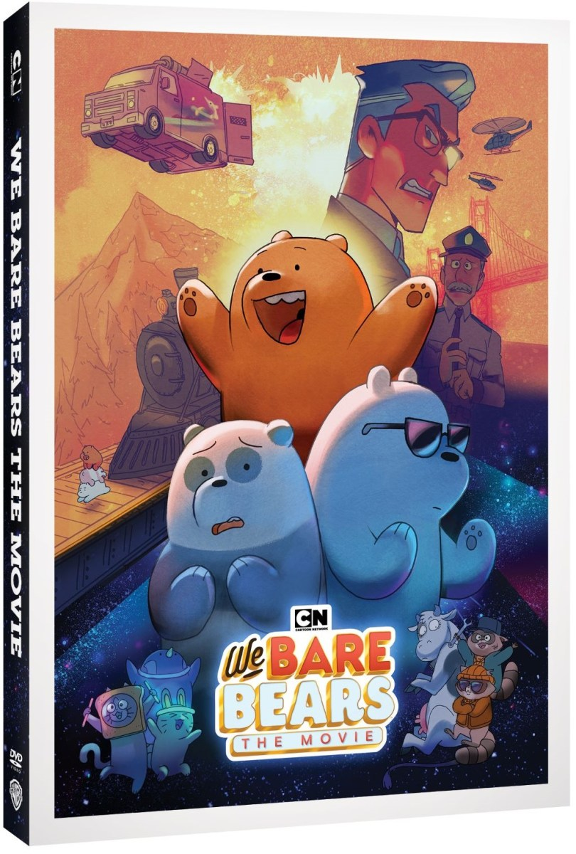 We Bare Bears The Movie DVD Release Date, Details and Artwork