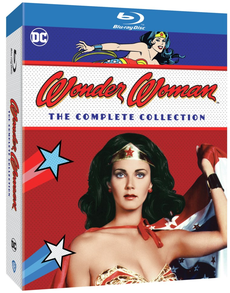 Wonder Woman The Complete Collection Blu ray Release Date, Details and Artwork image