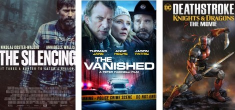 DEG Watched At Home Top 20 List For 08/27/20: The Silencing, Deathstroke: Knights & Dragons 1