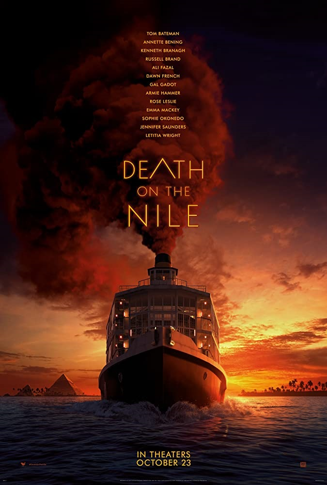 'Death On The Nile'; Kenneth Branagh Returns As Hercule Poirot In The First Trailer & Poster For The Mystery 6