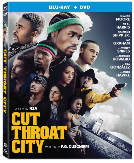 'Cut Throat City'; The RZA Directed Crime Drama Arrives On Digital October 6 & On Blu-ray & DVD October 20, 2020 From Well Go USA 1