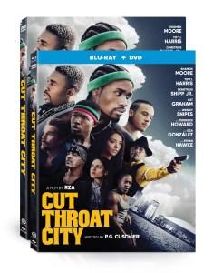 Cut Throat City Blu ray, DVD