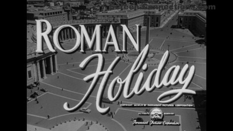 [Blu-Ray Review] 'Roman Holiday' (1953) (Paramount Presents); Available September 15, 2020 From Paramount 2