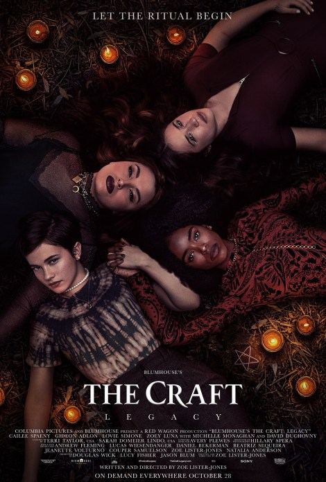 'The Craft: Legacy'; The First Trailer & Poster For The Blumhouse Follow-up Are Here To Put A Spell On You 2
