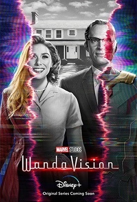 'WandaVision'; The First Trailer & Artwork For Marvel's Disney Plus Series Are Here! 2