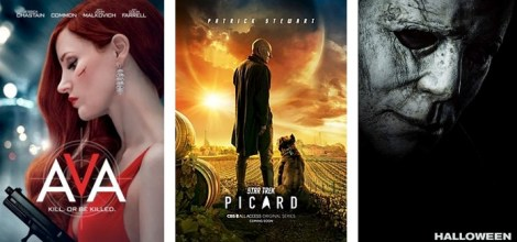 DEG Watched At Home Top 20 List For 10/15/20: Hocus Pocus, Star Trek: Picard, Halloween 1