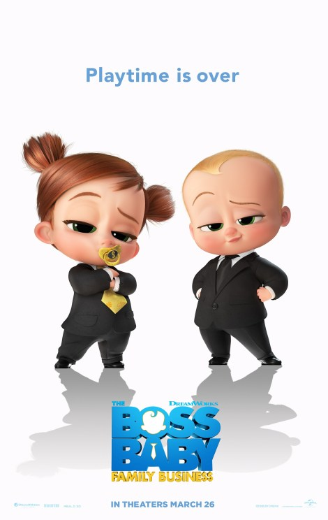 'The Boss Baby: Family Business'; The First Trailer & Poster For The Animated Sequel Are Back On The Job 2