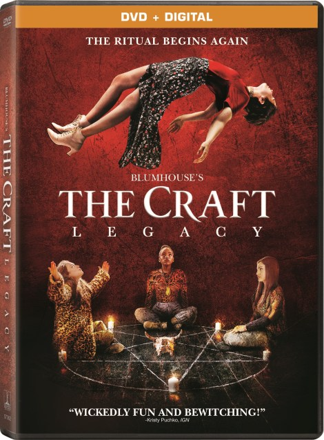 'The Craft: Legacy'; Arrives On Blu-ray & DVD December 22, 2020 From Sony 3