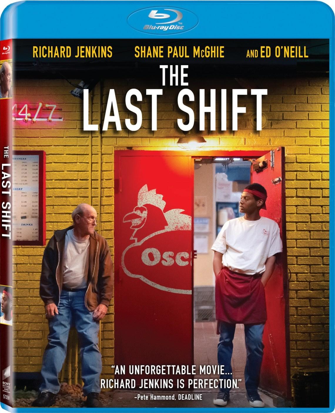 the last shift dvd