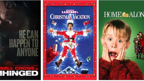 DEG Watched At Home Top 20 List For 12/03/20: Unhinged, National Lampoon's Christmas Vacation 4