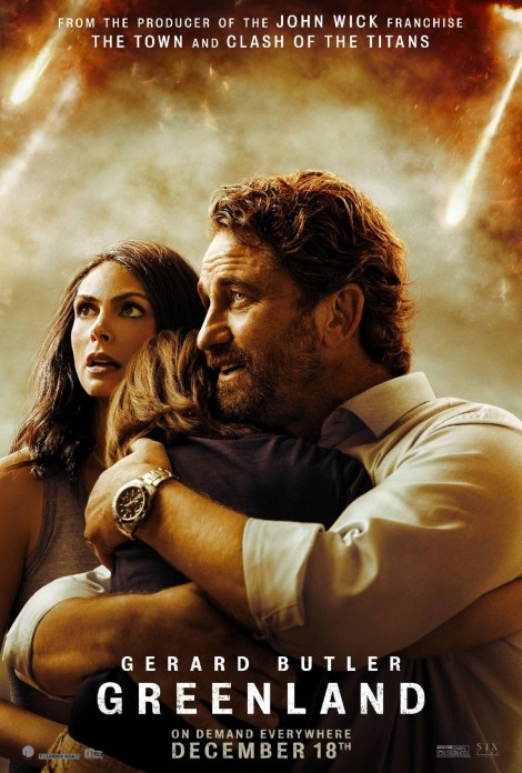 'Greenland'; Check Out A New Trailer & Stills From The Gerard Butler Thriller 3