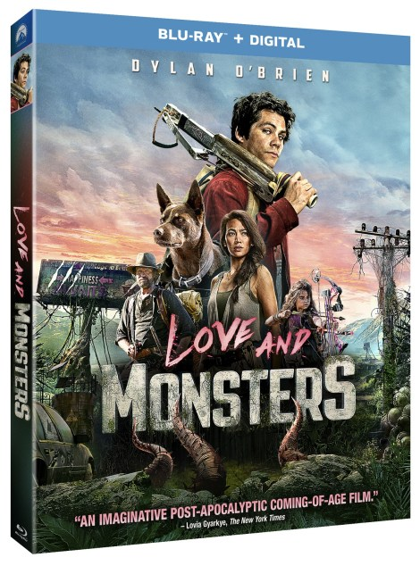 'Love And Monsters'; Arrives On 4K Ultra HD, Blu-ray & DVD January 5, 2021 From Paramount 1
