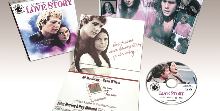 paramount presents love story