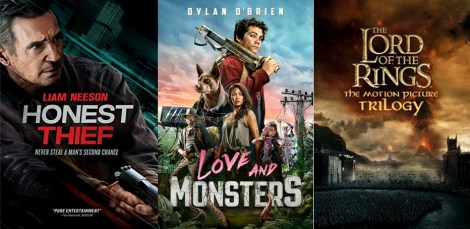 DEG Watched At Home Top 20 List For 01/14/21: Love And Monsters, Tenet 1