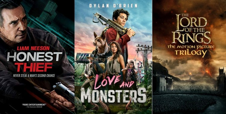 DEG Watched At Home Top 20 List For 01/14/21: Love And Monsters, Tenet 2