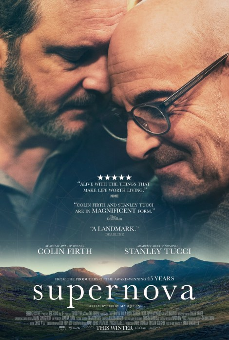 'Supernova'; The Official Trailer & Poster For The Colin Firth & Stanley Tucci Starring Film Are Here 1
