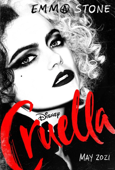 Disney's 'Cruella'; The First Trailer & 2 Posters For The Live-Action Film Starring Emma Stone Have Arrived 2