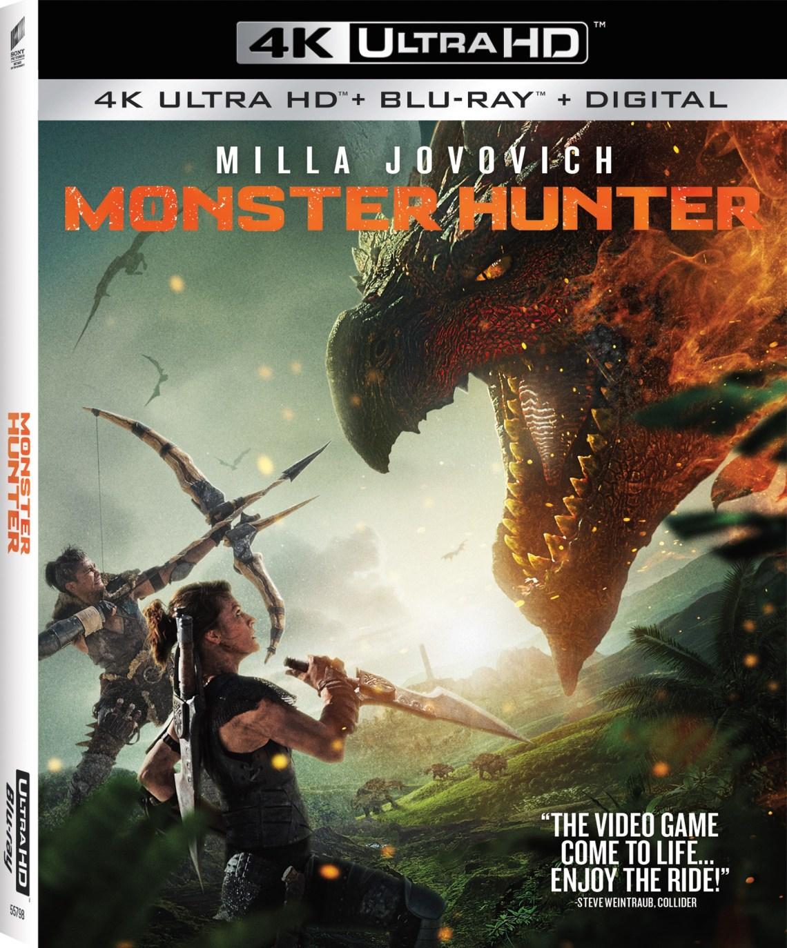 monster hunter 4k uhd