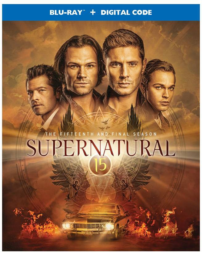 'Supernatural: The Complete Fifteenth & Final Season' & 'Supernatural: The Complete Series' Arrive On Blu-ray & DVD May 25, 2021 From Warner Bros 9