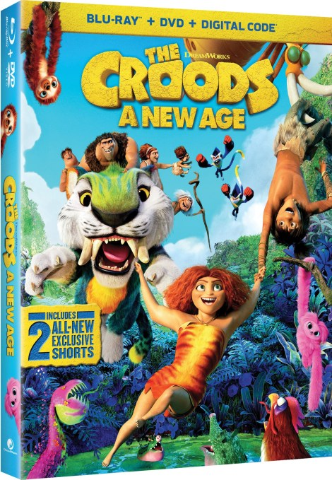 The Croods: A New Age; Arrives On 4K Ultra HD, Blu-ray & DVD February 23, 2021 From Universal 6